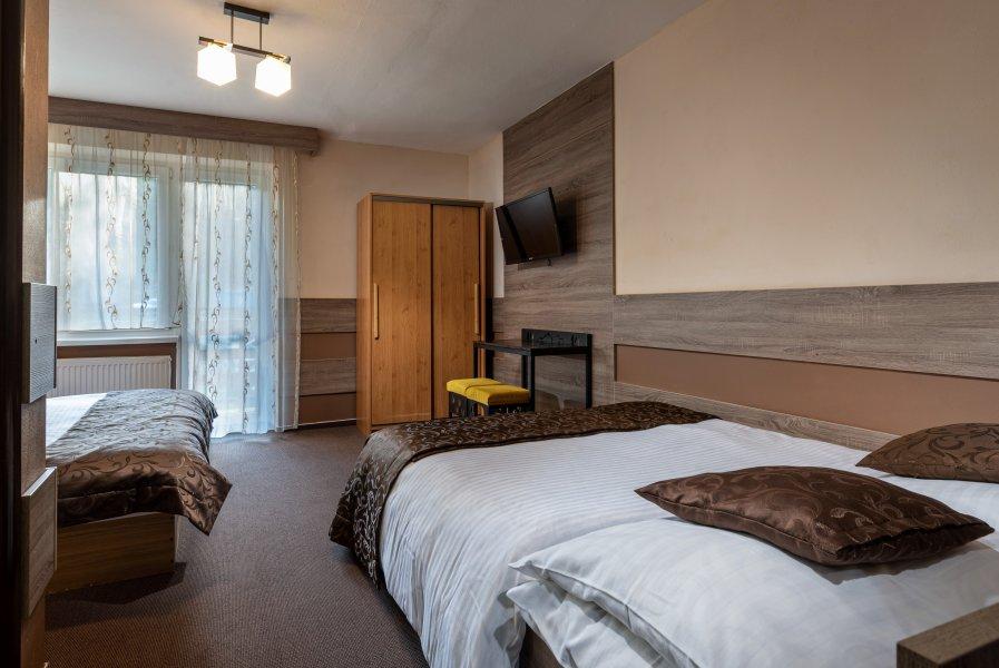 4 posteľová izba